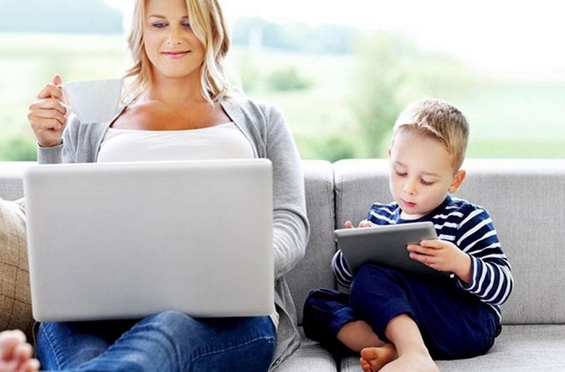 trabalho para maes com filhos pequenos