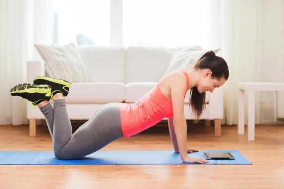 exercícios de academia para fazer na casa 2