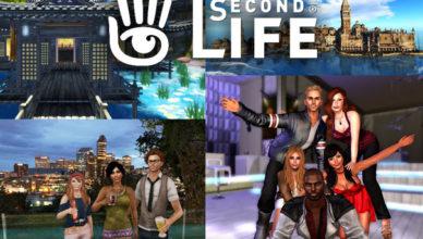 Criar Conta e Baixar Jogo Second Life