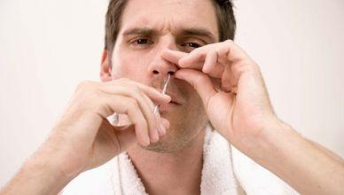 espinha dentro do nariz