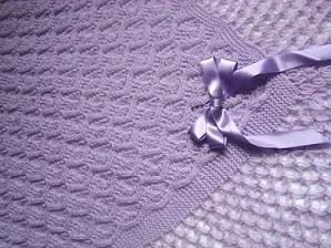 manta de trico para bebe