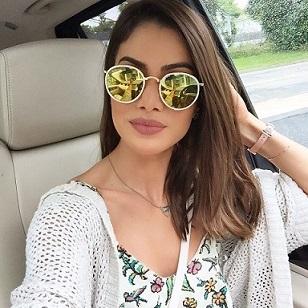 Modelos De Oculos Feminino Espelhado Para Uso Casual e Praia 86df9211fb