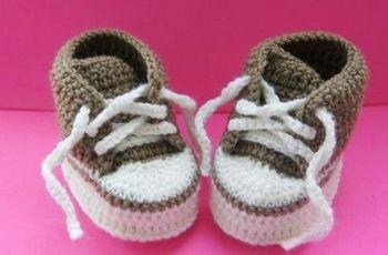 Como Fazer Sapatinho De Crochê Para Bebe Masculino
