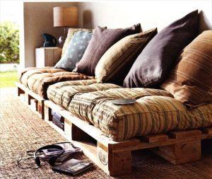 ideias movel de palete de madeira
